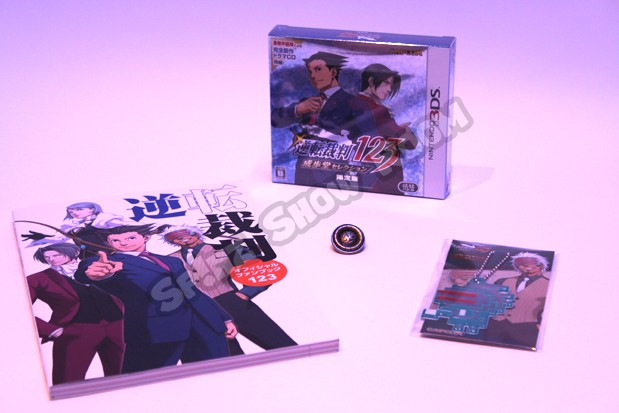 Phoenix Wright Naruhodo Selection 123 Limited Edition