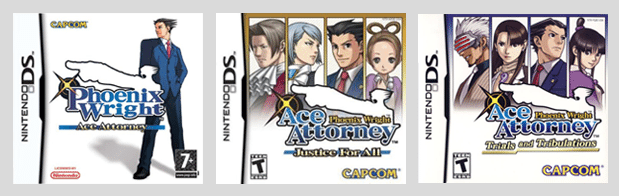Phoenix Wright Triologie DS