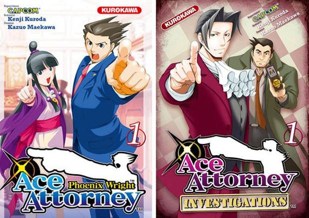 Manga Ace Attorney
